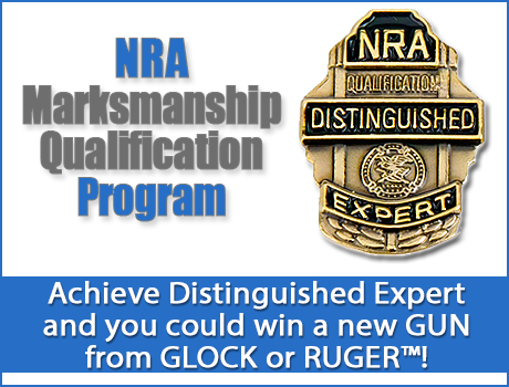 NRA MQP ADFG HEDR make DE and you could win a new gun from GLOCK or RUGER