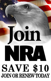 Join the NRA or renew your membership and save 10 dollars